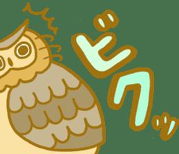Lovely owls sticker #9752819