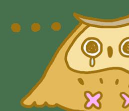 Lovely owls sticker #9752821