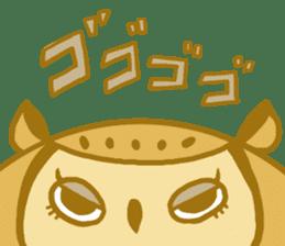 Lovely owls sticker #9752824