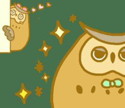 Lovely owls sticker #9752827