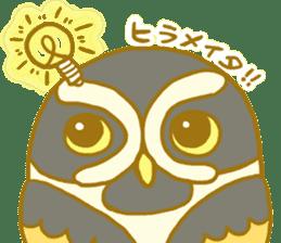Lovely owls sticker #9752830