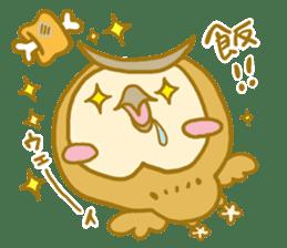 Lovely owls sticker #9752831