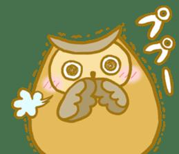 Lovely owls sticker #9752832