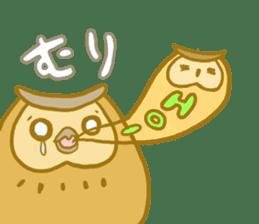 Lovely owls sticker #9752835