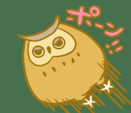 Lovely owls sticker #9752836
