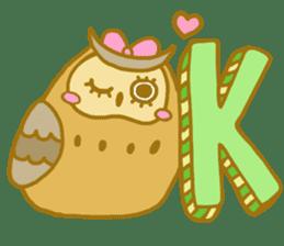 Lovely owls sticker #9752838