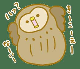 Lovely owls sticker #9752847