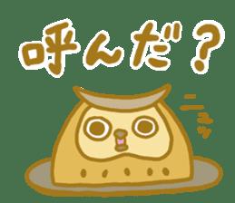 Lovely owls sticker #9752850