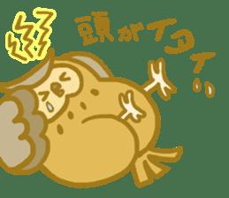Lovely owls sticker #9752851