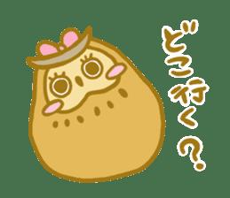 Lovely owls sticker #9752853