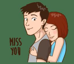 Romantic Couple In Love sticker #9760430