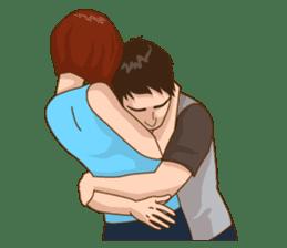 Romantic Couple In Love sticker #9760434