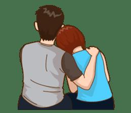 Romantic Couple In Love sticker #9760439