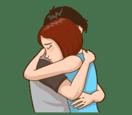 Romantic Couple In Love sticker #9760446