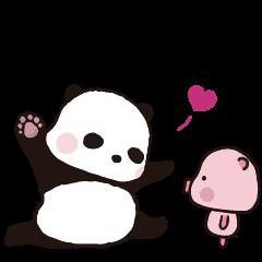 Sweet Panda & Honey Pig (3) by Ellya