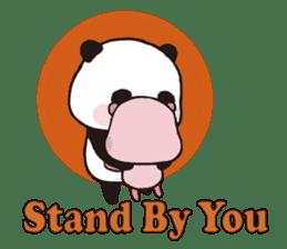 Sweet Panda & Honey Pig (3) by Ellya sticker #9760658