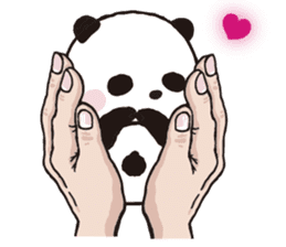 Sweet Panda & Honey Pig (3) by Ellya sticker #9760659