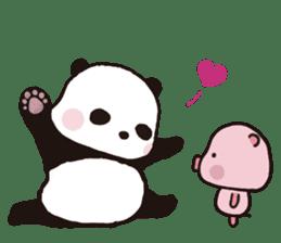 Sweet Panda & Honey Pig (3) by Ellya sticker #9760662