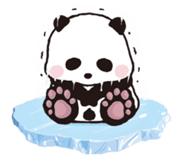 Sweet Panda & Honey Pig (3) by Ellya sticker #9760671