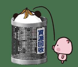 Sweet Panda & Honey Pig (3) by Ellya sticker #9760675