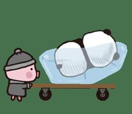 Sweet Panda & Honey Pig (3) by Ellya sticker #9760679