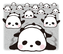 Sweet Panda & Honey Pig (3) by Ellya sticker #9760683