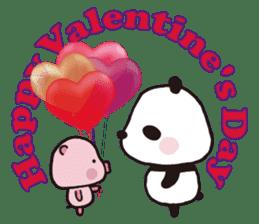 Sweet Panda & Honey Pig (3) by Ellya sticker #9760692