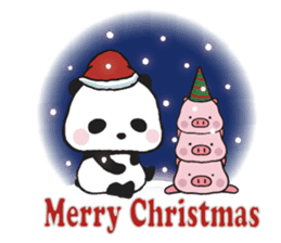 Sweet Panda & Honey Pig (3) by Ellya sticker #9760693