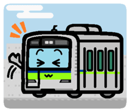 Deformed the Kanto train. NO.3.2 sticker #9764135