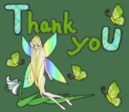 Butterfly-fairy sticker #9768976