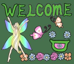 Butterfly-fairy sticker #9768977