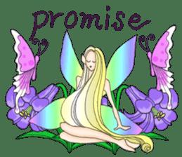 Butterfly-fairy sticker #9768982
