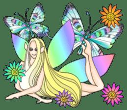 Butterfly-fairy sticker #9768983