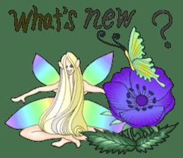 Butterfly-fairy sticker #9768987