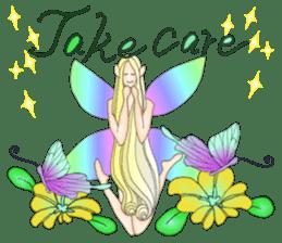 Butterfly-fairy sticker #9768993