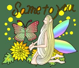 Butterfly-fairy sticker #9768997
