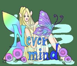 Butterfly-fairy sticker #9768998