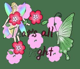 Butterfly-fairy sticker #9768999