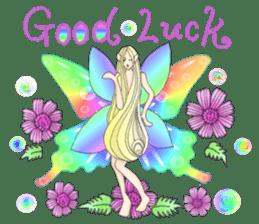 Butterfly-fairy sticker #9769002