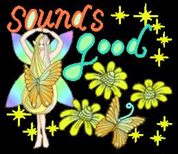 Butterfly-fairy sticker #9769006