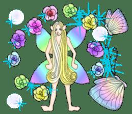 Butterfly-fairy sticker #9769007