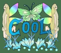 Butterfly-fairy sticker #9769010