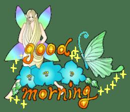 Butterfly-fairy sticker #9769012