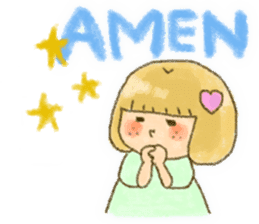 Bible girls sticker #9776262