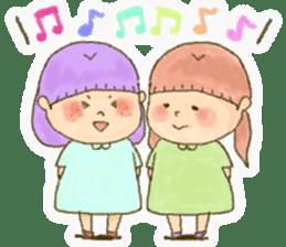 Bible girls sticker #9776290