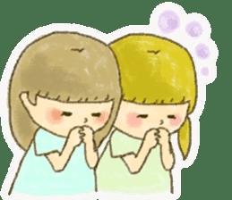 Bible girls sticker #9776293