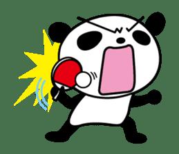 I love table tennis 1. sticker #9778296
