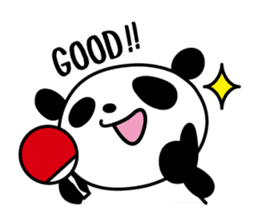 I love table tennis 1. sticker #9778305