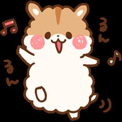 fluffy hamster2