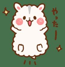 fluffy hamster2 sticker #9779063